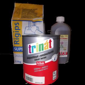 Festékek, zsákos anyagok, vegyi folyadékok